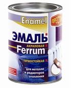 Эмаль акриловая термостойкая для металла и радиаторов отопления