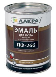 Эмаль ПФ-266 «Лакра» для пола