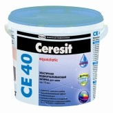 Затирка для кафеля водоотталкивающая Ceresit СЕ 40
